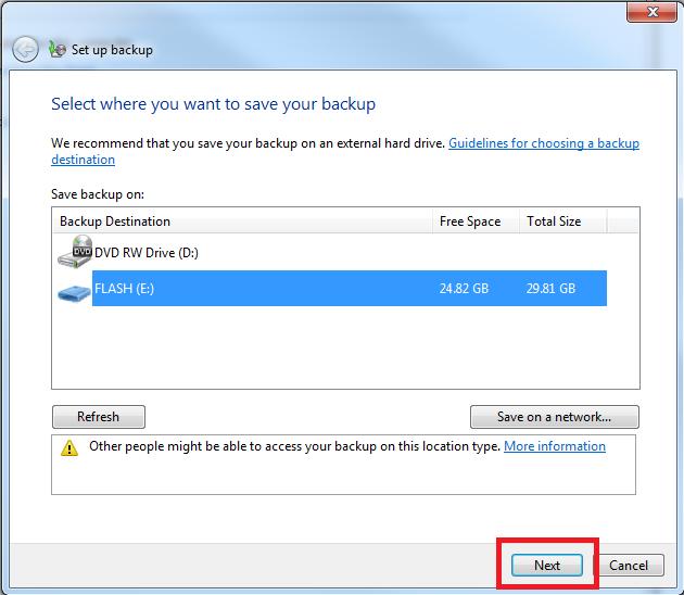 Как сделать бэкап программ в windows